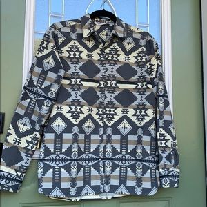 Woolrich size Small Aztec Flannel